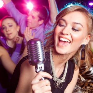 Be the star of the show! We bring everything you need for your karaoke party.